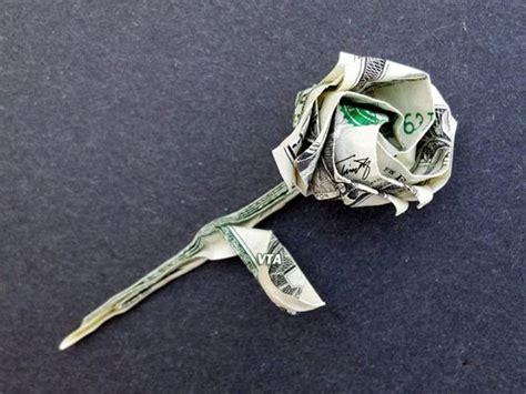 money origami roses details about beautiful money origami pieces many