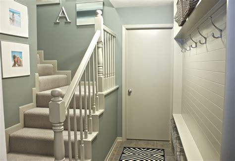 paint colors for narrow hallway narrow hallway built in diy mudroom