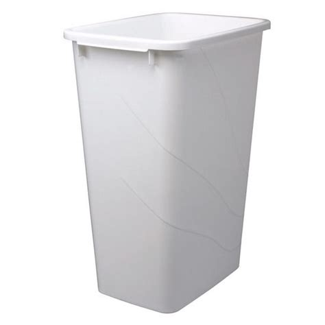kitchen trash can trash cans replacement waste bins in frosted nickel or