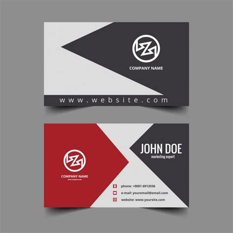 visiting card free clean visiting card design vector free