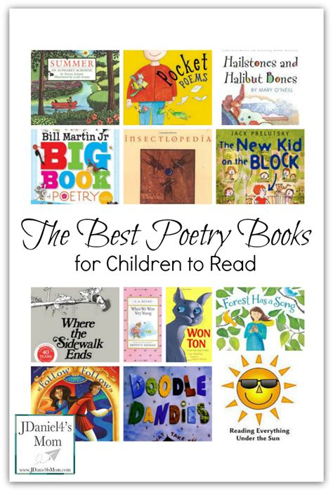 poetry picture books for children the best poetry books for children to read