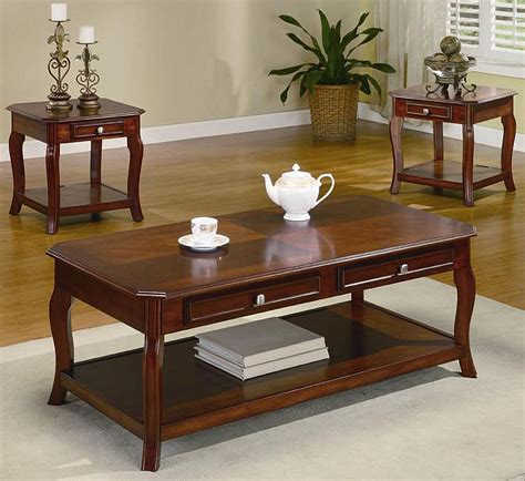 coffee table set 3 occasional table set coffee table sets
