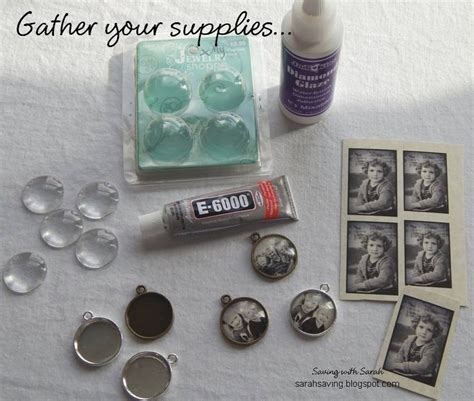 hobby lobby jewelry supplies saving with diy photo pendant for 2 50