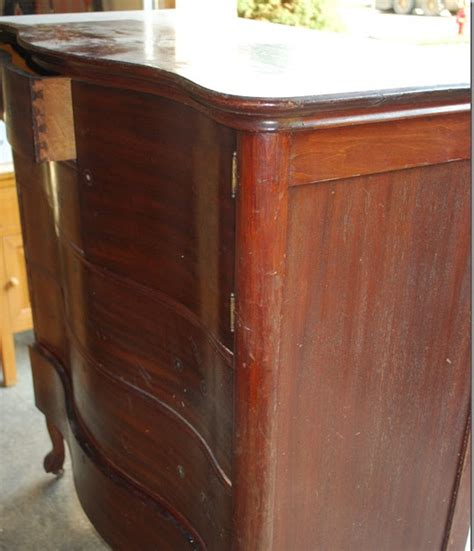 chalk paint looks streaky vintage restyled a distressed streaky dresser