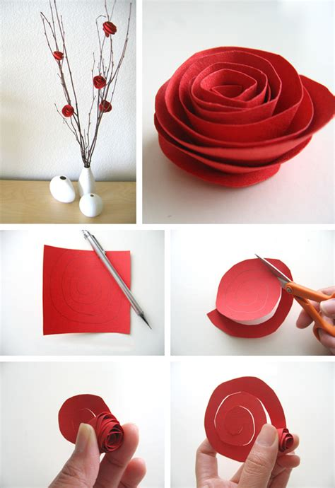 paper flowers craft paper flower tutorial