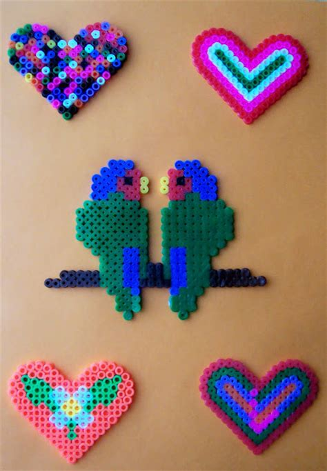 things to make with perler ilusiones scrap perlas hama