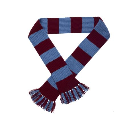 hobby knit wool rugby football striped scarf knitting pattern wool