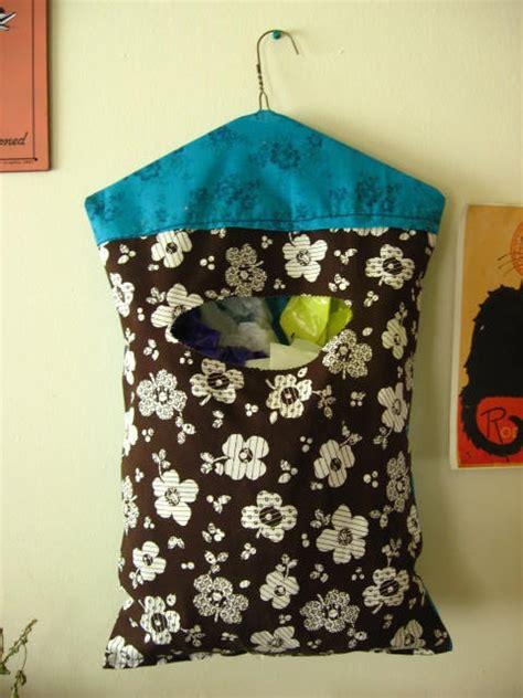 plastic bag crafts for hanging plastic bag holder diy crafts