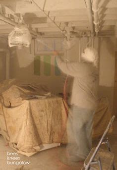 spray painting unfinished basement ceiling 1000 images about painted basement ceilings on