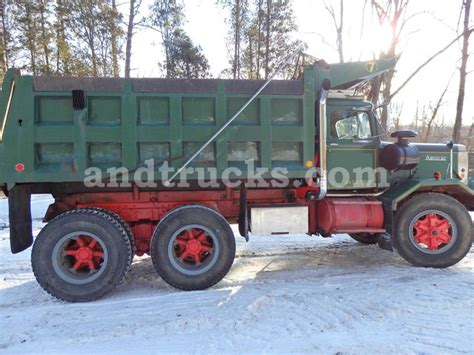 Auto Car Dump Truck For Sale by 1973 Autocar Tandem Axle Dump Truck Used For Sale