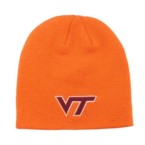 orange knit beanie virginia tech orange knit beanie