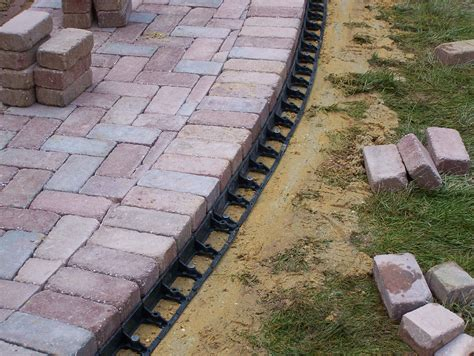 paver patio edging paver patio edging how to build patio with pavers patio