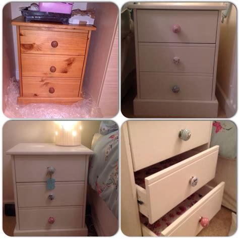 chalk paint upcycled furniture 17 best ideas about pine bedside tables on