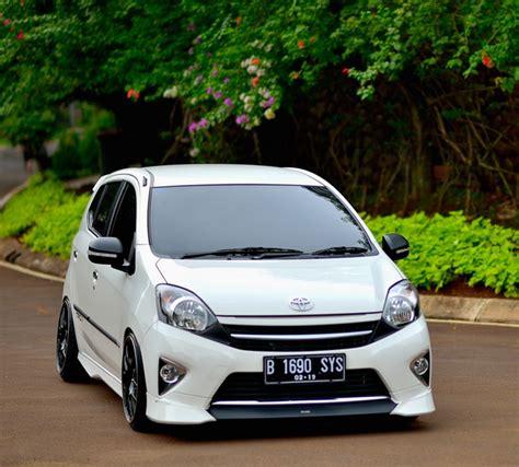 Modifikasi Mobil Agya by Cara Modifikasi Mobil Toyota Agya Ceper Terbaru 2017
