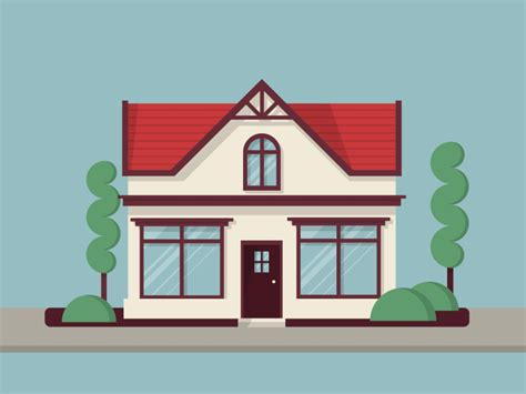 house animation by demian cozmin dribbble