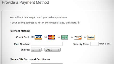 make money without credit card create an apple id in itunes account without a credit card