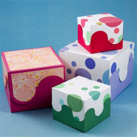 craft box how to make a rectangular box pattern boxes and bags