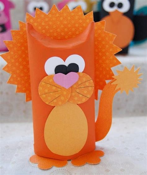 paper crafts animals diy animal craft ideas with toilet paper rolls home
