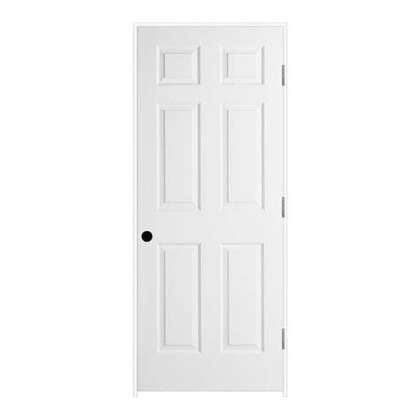 prehung 6 panel interior doors jeld wen 32 in x 80 in textured 6 panel primed molded