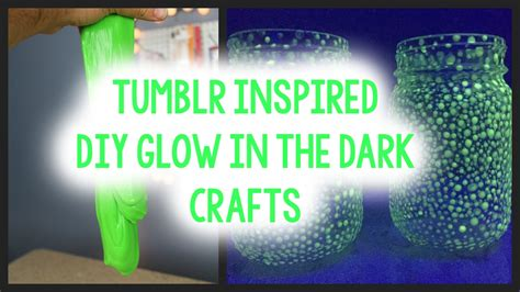 glow in the paint projects glow in the crafts