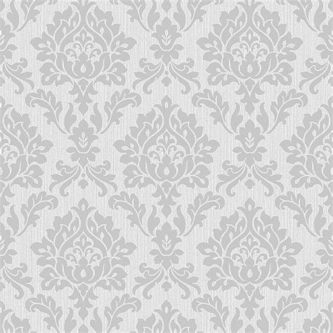 silver and white decor burlington damask wallpaper silver fd40625