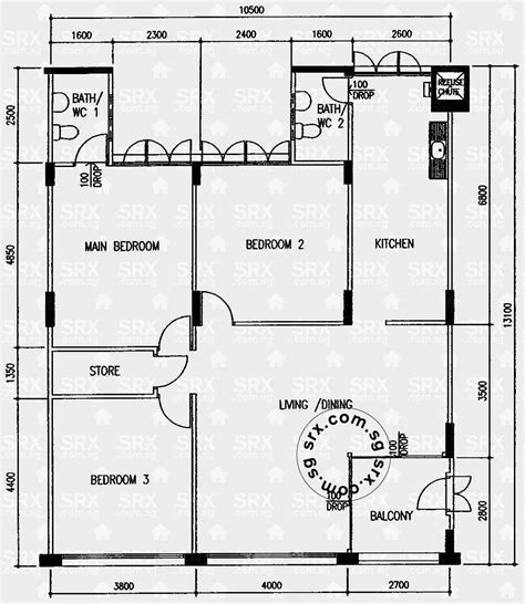 property floor plan floor plans for simei 1 hdb details srx property