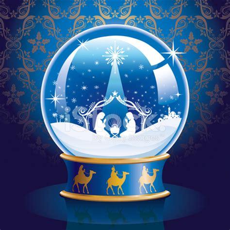manger snow globe nativity snow globe stock photos freeimages