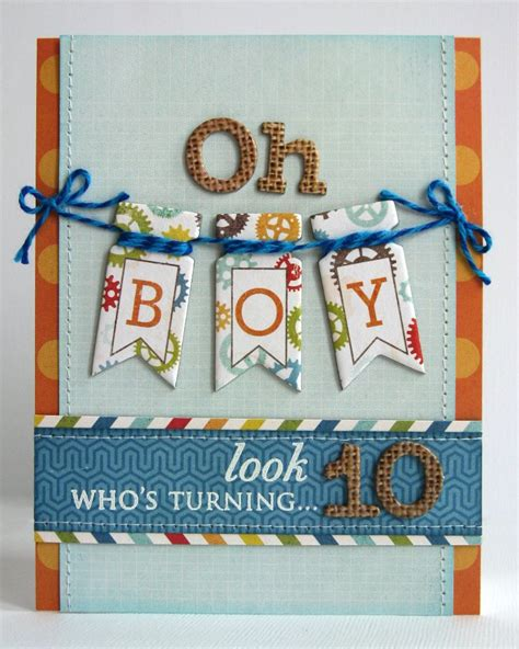 boys birthday cards to make snippets by mendi an echo park all about a boy birthday card