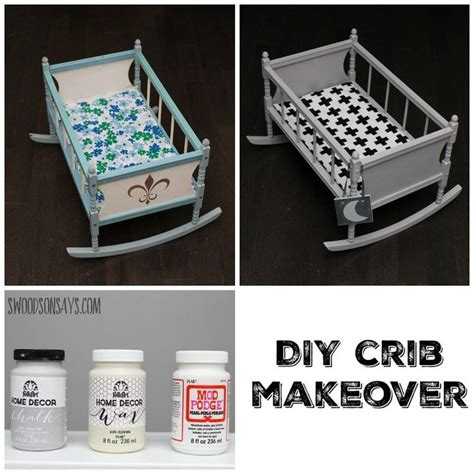diy chalk paint crib 1000 ideas about crib makeover on painting
