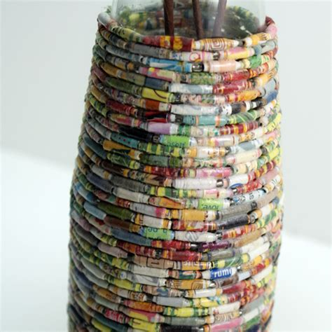 paper crafts recycled newspaper recycled crafts using magazine pages