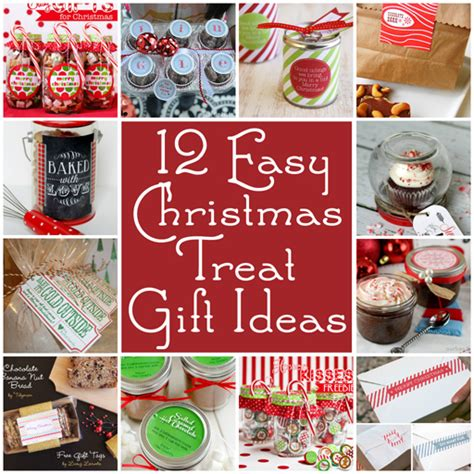 food gifts for presents 12 easy treat gift ideas and printables easy