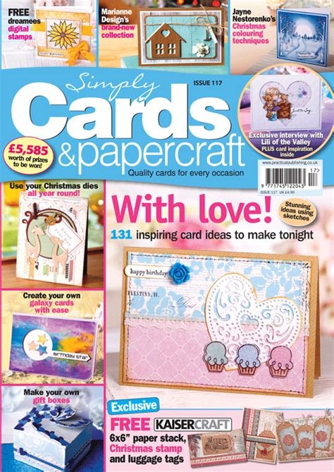 paper craft magazines simply cards papercraft 117 on sale now