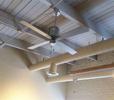 galvanized ceiling fans vintage ceiling fans cool office space with style