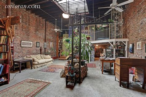 Creatively Designed quirky east williamsburg artist s loft offers a bygone