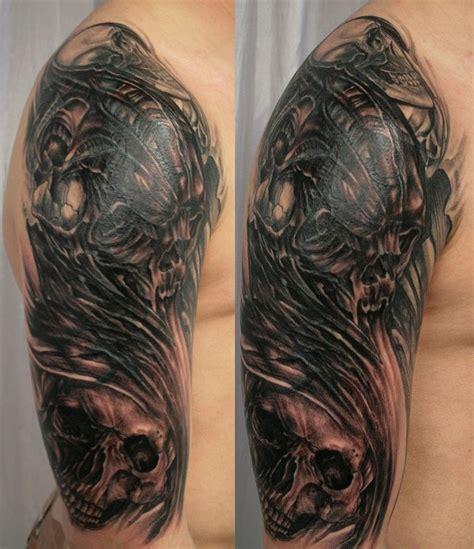 pics of hannikate pics of skulls tattoos
