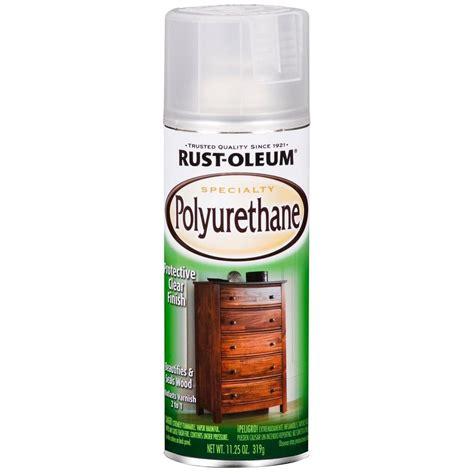 spray paint polyurethane rust oleum specialty 11 25 oz satin polyurethane spray 6