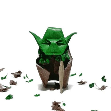 origami jedi master yoda 17 best images about wars on darth vader