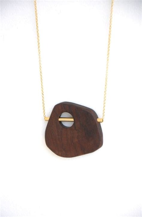 wooden necklace the 25 best wooden jewelry ideas on