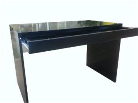 black gloss computer desk wall mounted desk with storage black in desks and