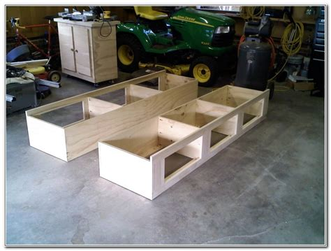 king bed frame with drawers plans king bed frame with drawers plans woodwork king size bed