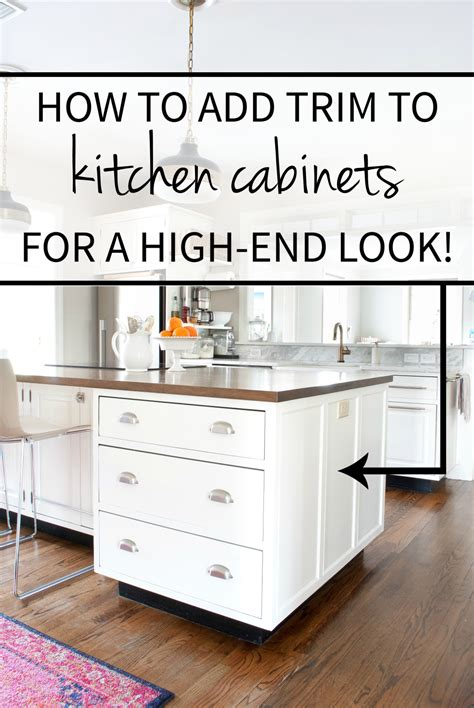 how is a kitchen island how to add detail to a plain kitchen island the