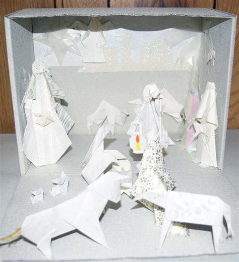 origami los alamos origami nativity images craft decoration ideas