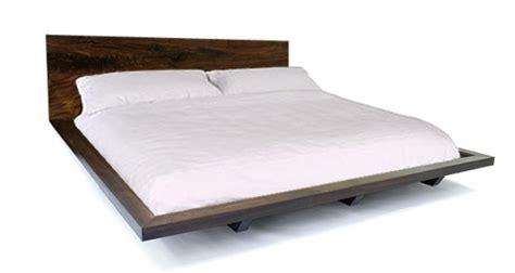 solid platform bed frame platform bed frame in solid claro walnut