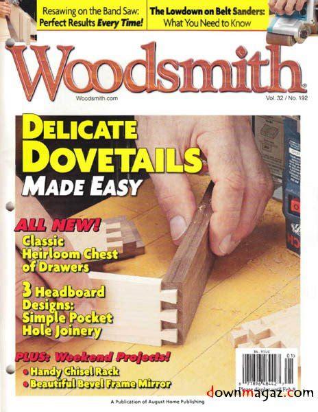 free woodworking magazine woodwork woodsmith magazine pdf plans