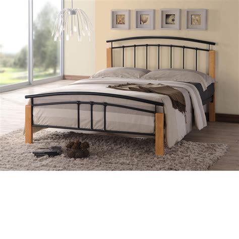 black steel bed frame tetras black metal bed frame 4ft small
