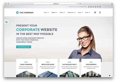 company themes 40 best corporate business themes of 2017