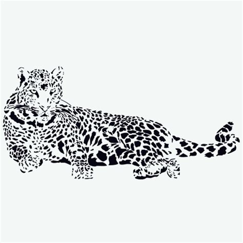 wall stickers au wall sticker leopard sticker wallstickerscool