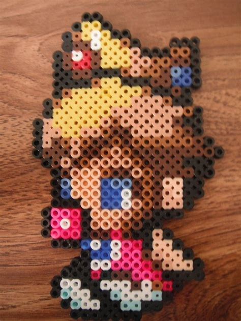 hama bead princess designs 45 best images about mario minecraft hama needle