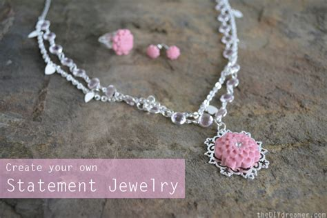 make own jewelry create your own statement jewelry with epoxy clay the d