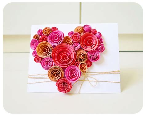 paper flowers for card shaped swirl flower card on luulla